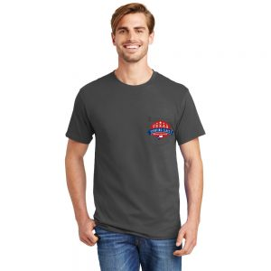 Men Short Sleeve Tee-Shirt – Hanes 5590