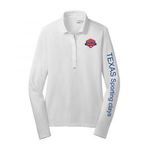 TSCA Nike Ladies Long Sleeve Polo