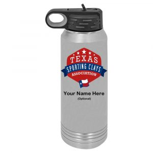 TSCA 30 oz Stainless Steel Water Bottle