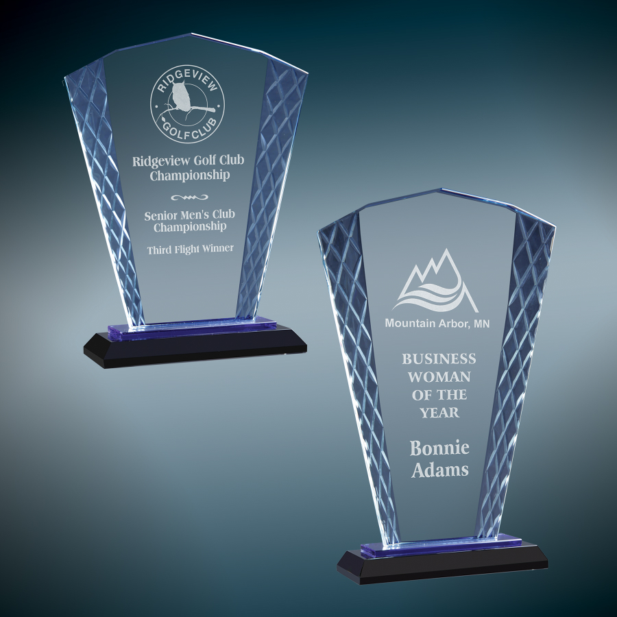 glass trophies