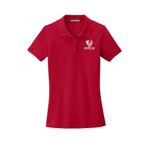 AFS Women Port Authority® EZCotton™ Polo