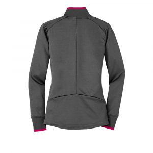 AZ-Nike Ladies Dri-FIT 1/2-Zip Cover-Up