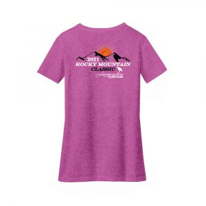 RMC-District® Women's Perfect Blend® V-Neck Tee