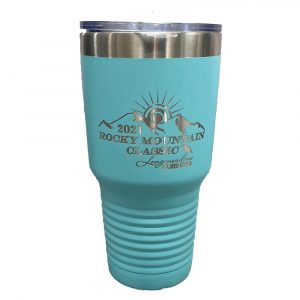 RMC-Polar Camel 30 oz. Turquoise Vacuum Insulated Tumbler w/Lid