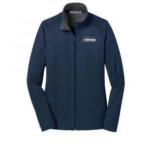 TenSCA-Port Authority® Ladies Vertical Texture Full-Zip Jacket