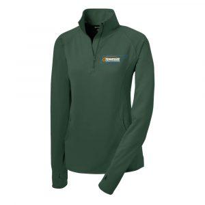 TenSCA-Sport-Tek® Ladies Sport-Wick® Stretch 1/2-Zip Pullover