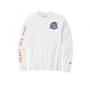 SCR-Champion® Heritage Jersey Long Sleeve Tee (Print On Back)