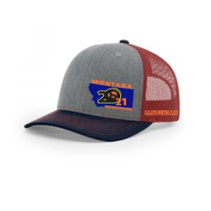 MWC-Embroidered Cap Red