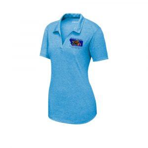 MWC-Women Sport-Tek ® PosiCharge ® Tri-Blend Wicking Polo