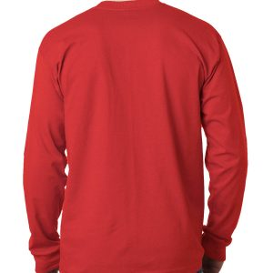 SCR1-Champion ® Heritage Jersey Long Sleeve Tee (No print on back)