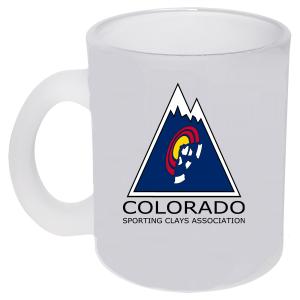 CoSCA-11 oz. Frosted Glass mug